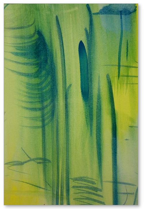Adams Rib - Painting by Tom Atkins