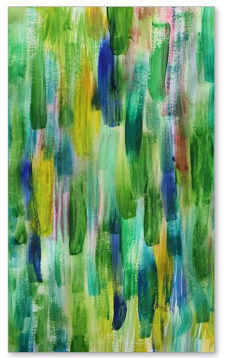 Spetember Rain - Painting by Tom Atkins