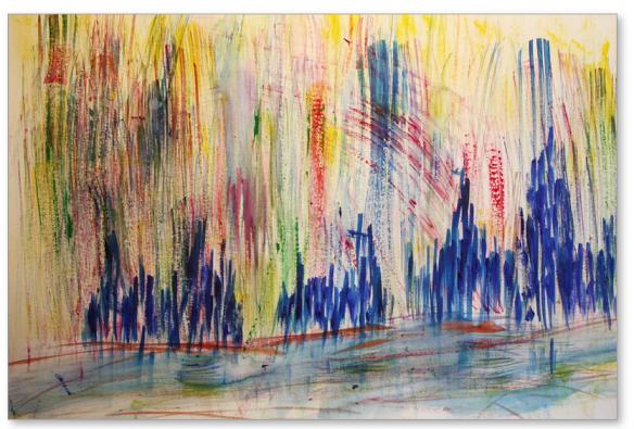 Galilee At Dawn - by Tom Atkins