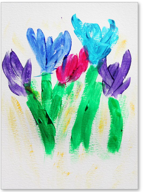 February Hope -  Painting by Tom Atkins
