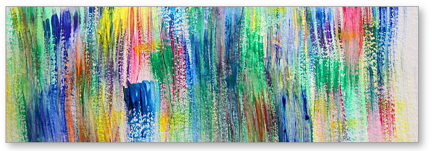 Passion s Thicket -  Painting by Tom Atkins