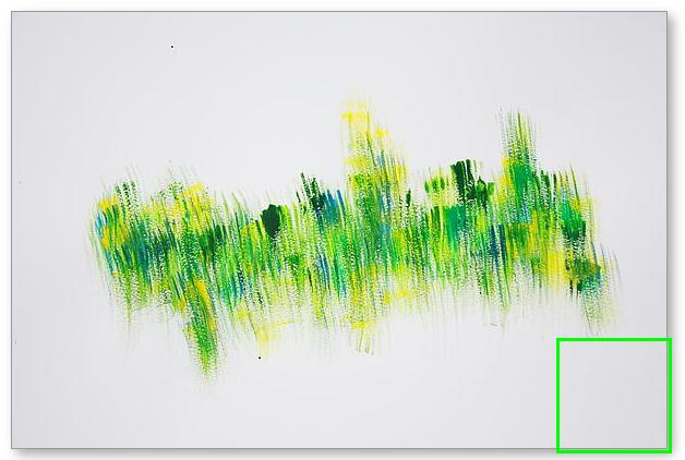 April Grass  - Painting by Tom Atkins