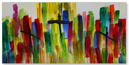 Calvary Dawn by Tom Atkins