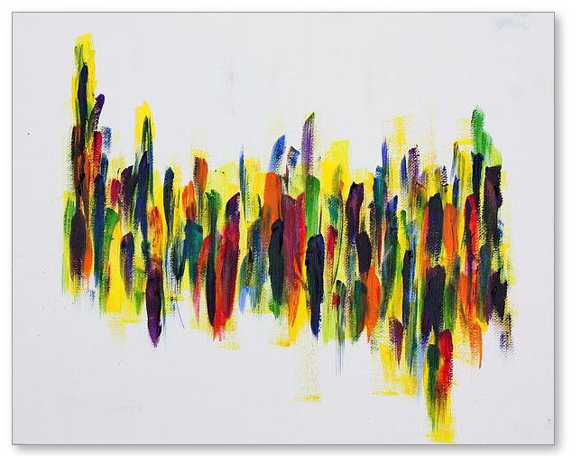 Dancing At Dawn  - Painting by Tom Atkins