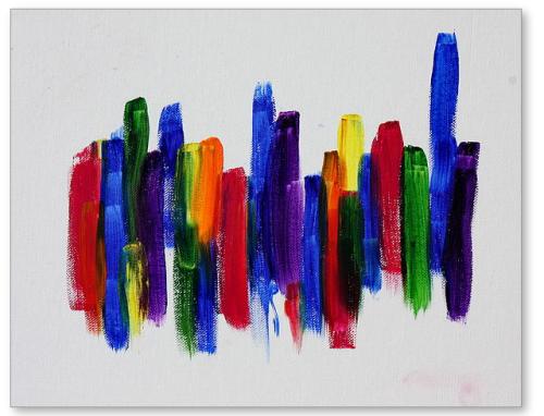 Pilgrimage - painting by Tom Atkins